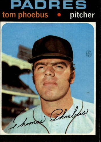 Photo of 1971 Topps #611 Tom Phoebus