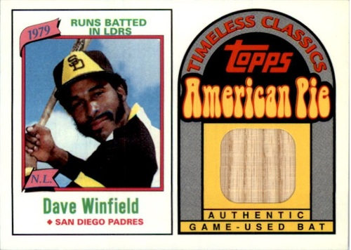 Photo of 2001 Topps American Pie Timeless Classics Relics #BBTC45 Dave Winfield 80 Bat