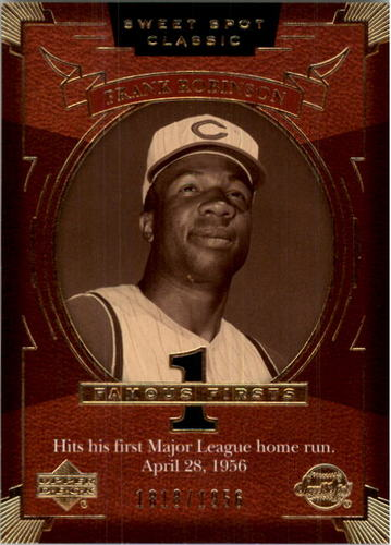 Photo of 2004 Sweet Spot Classic #105 Frank Robinson FF/1956