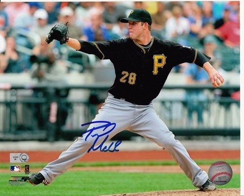 Photo of Paul Maholm Autographed 8x10