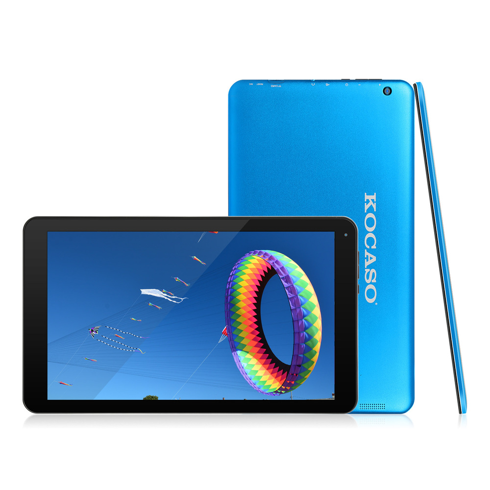 KOCASO 10.1-Inch Quad Core Android 5.1 Tablet - Blue