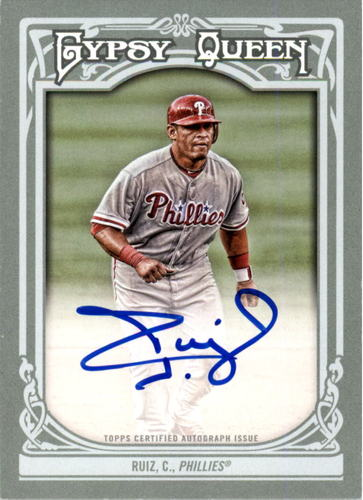Photo of 2013 Topps Gypsy Queen Autographs #CR Carlos Ruiz