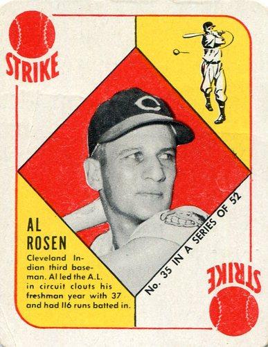 Photo of 1951 Topps Red Backs #35 Al Rosen