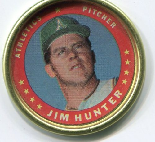 Photo of 1971 Topps Coins #80 Jim Hunter