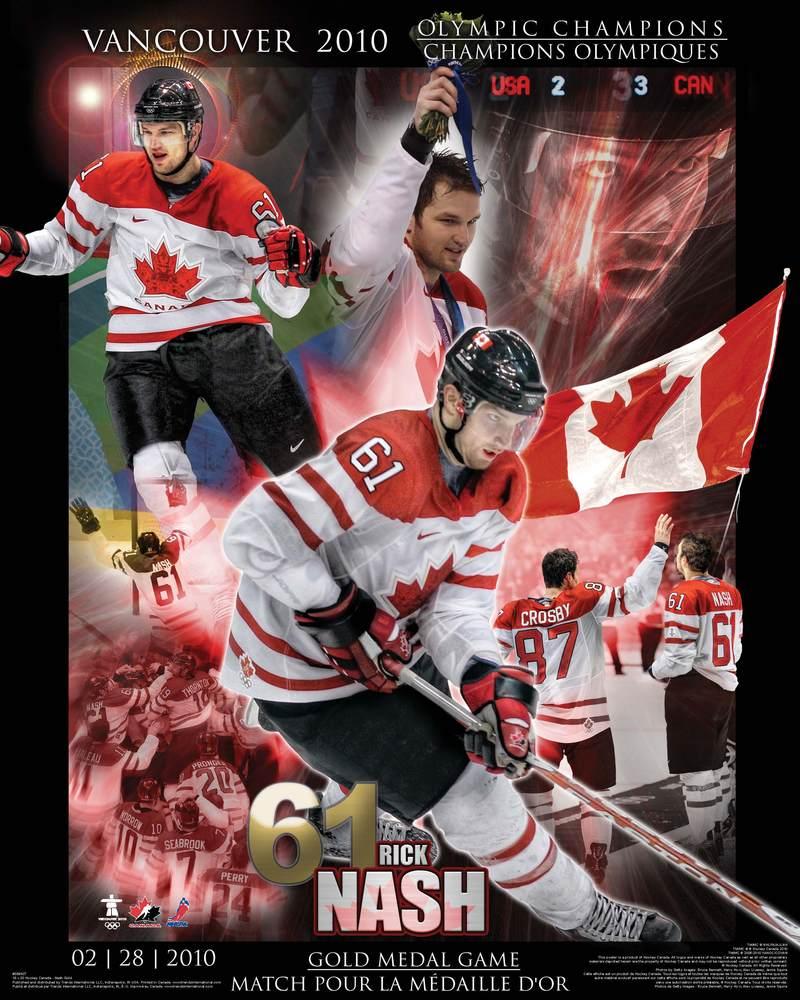 Rick Nash - Team Canada 16x20