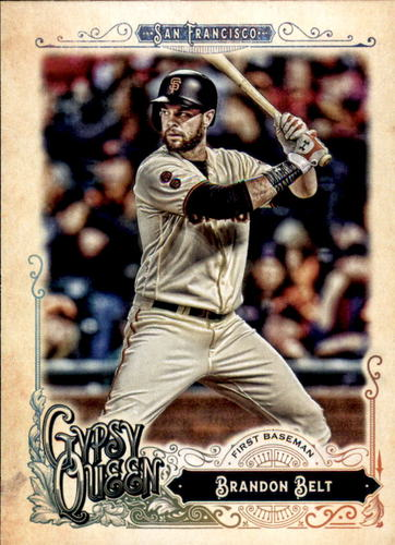 Photo of 2017 Topps Gypsy Queen #46 Brandon Belt