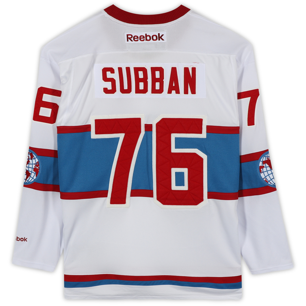 P.K. Subban Montreal Canadiens 2016 Winter Classic Unsigned Jersey