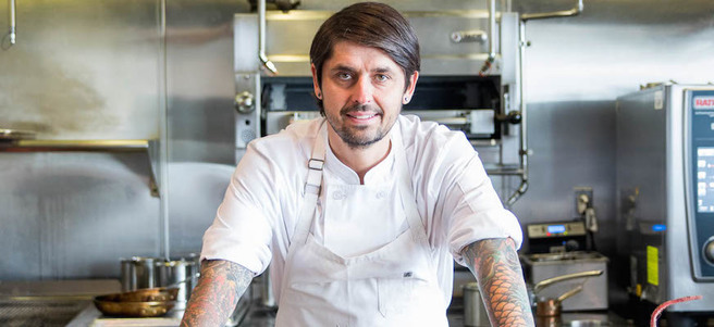 DINNER AT TROIS MEC & COOKING DEMONSTRATION BY CHEF LUDO LEFEBVRE - 8:15PM