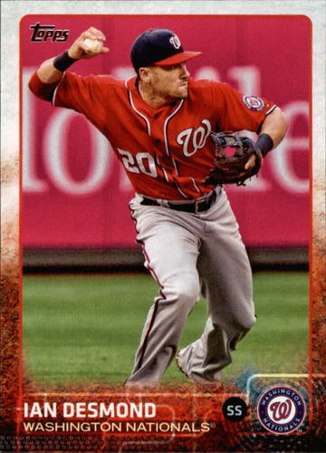 Photo of 2015 Topps #606 Ian Desmond