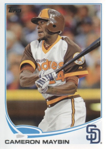 Photo of 2013 Topps #324A Cameron Maybin