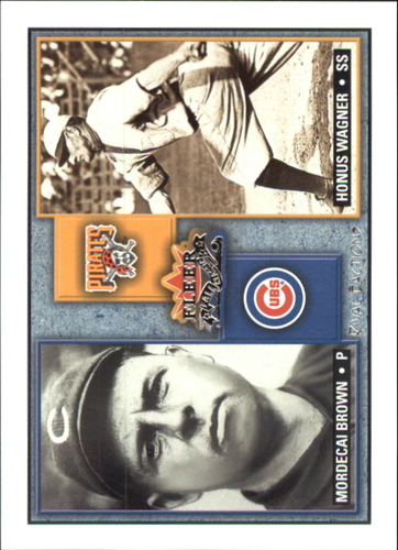 Photo of 2002 Fleer Fall Classics Rival Factions #5 M.Brown/H.Wagner