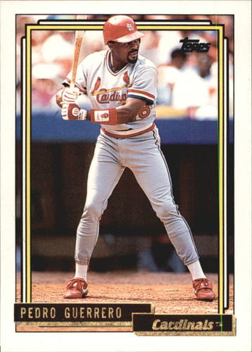 Photo of 1992 Topps Gold #470 Pedro Guerrero