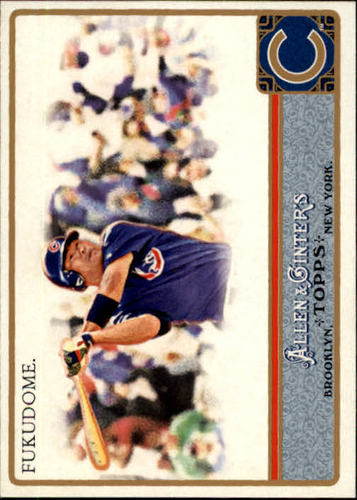 Photo of 2011 Topps Allen and Ginter #207 Kosuke Fukudome
