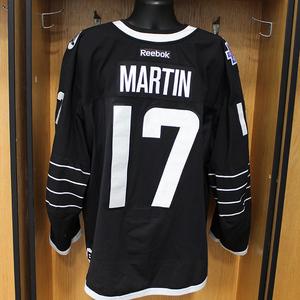 Matt Martin - Game Worn Third Jersey - 2015-16 Season - New York Islanders