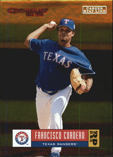 Photo of 2005 Donruss Stat Line Career #356 Francisco Cordero/279