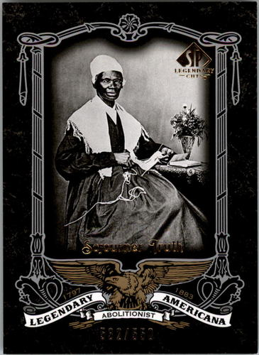 Photo of 2007 SP Legendary Cuts Legendary Americana #95 Sojourner Truth/550