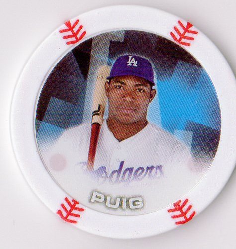 Photo of 2014 Topps Chipz #75 Yasiel Puig