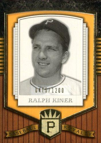 Photo of 2003 Upper Deck Classic Portraits #202 Ralph Kiner BBR