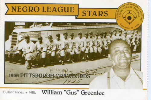 Photo of 1988 Negro League Duquesne Light Co. #5 Gus Greenlee owner