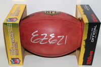 NFL - COWBOYS EZEKIEL ELLIOTT SIGNED AUTHENTIC FOOTBALL