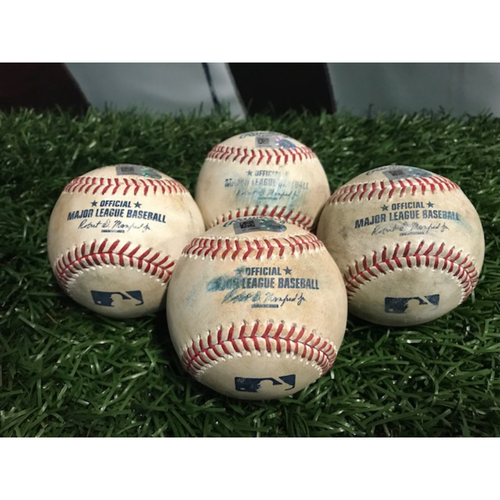 Photo of Game-Used Baseball Series Package: Tampa Bay Rays vs Toronto Blue Jays April 6-9, 2017