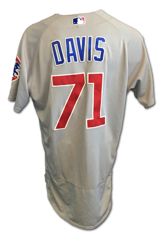 Taylor Davis Team-Issued Jersey -- 2017 Season
