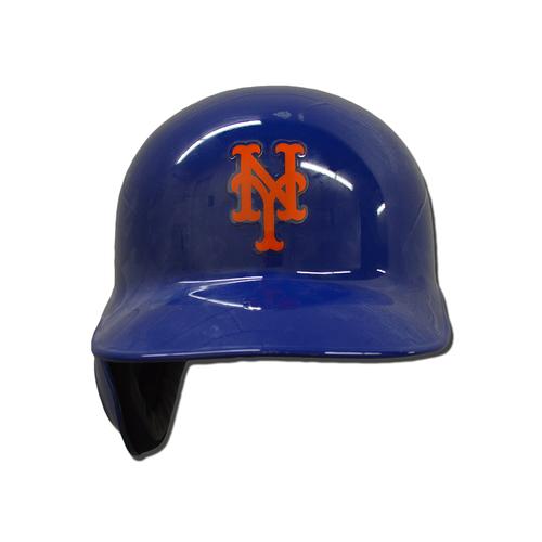 Photo of Jacob deGrom #48 - Game Used Batting Helmet - Mets vs. Braves - 9/26/17