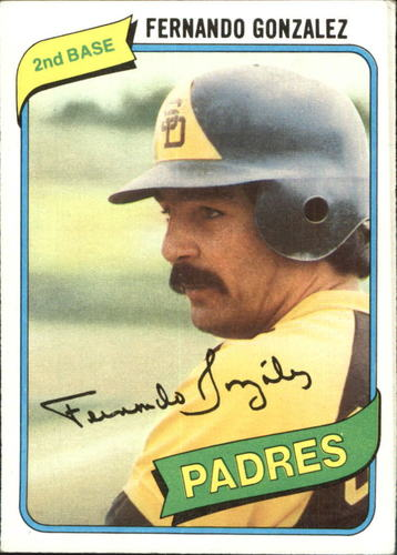 Photo of 1980 Topps #171 Fernando Gonzalez