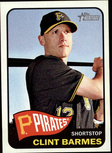 Photo of 2014 Topps Heritage #159 Clint Barmes