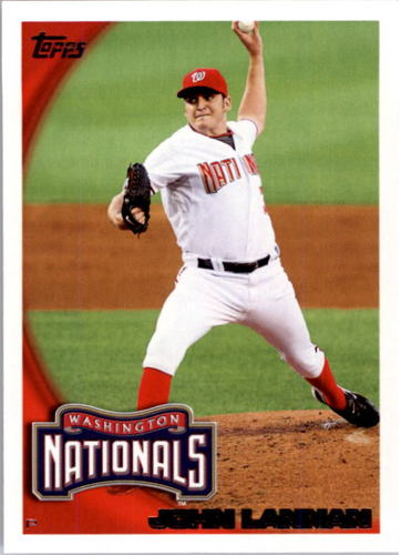 Photo of 2010 Topps #251 John Lannan