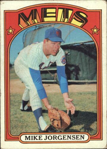 Photo of 1972 Topps #16 Mike Jorgensen