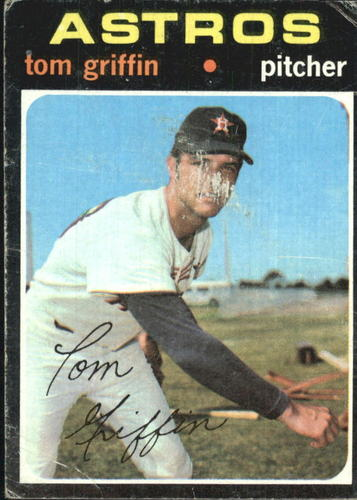 Photo of 1971 Topps #471 Tom Griffin