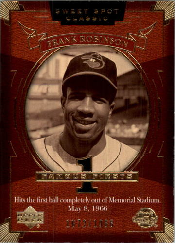 Photo of 2004 Sweet Spot Classic #106 Frank Robinson FF/1966