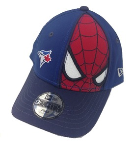Child's Face Front Spiderman Adjustable Cap by New Era