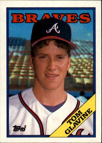 Photo of 1988 Topps #779 Tom Glavine -- Atlanta Braves rookie card