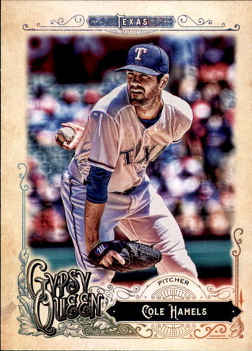 Photo of 2017 Topps Gypsy Queen #256 Cole Hamels