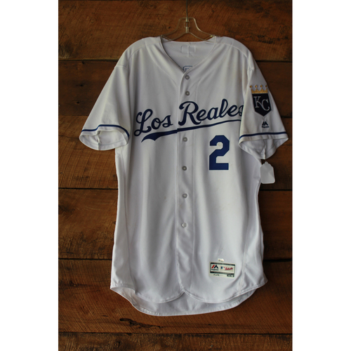 Photo of Alcides Escobar Game-Used Jersey (6/24/17 TOR at KC) (Size 46)