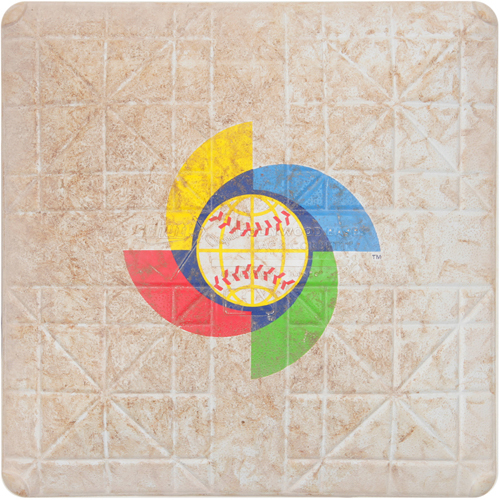 2017 WBC: Mexico at Venezuela - 3/12/2017 - Game-used 1st Base
