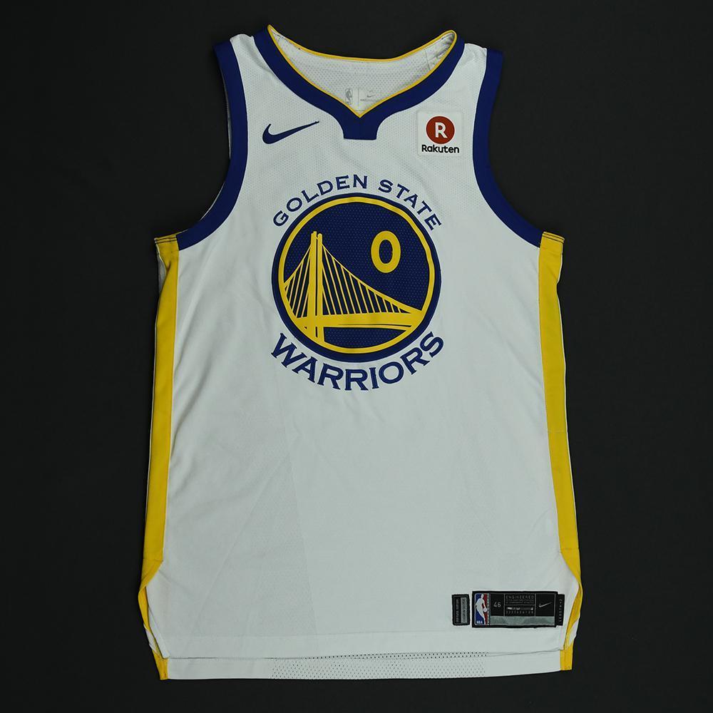 Patrick McCaw - Golden State Warriors - 2018 NBA Finals - Game 1 - Game-Worn White Jersey
