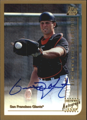 Photo of 1999 Topps Traded Autographs #T29 Giuseppe Chiaramonte