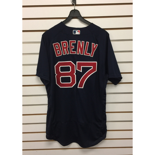 Mike Brenly Team-Issued 2016 Road Alternate Jersey