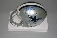 NFL - COWBOYS SEAN LEE SIGNED COWBOYS MINI HELMET