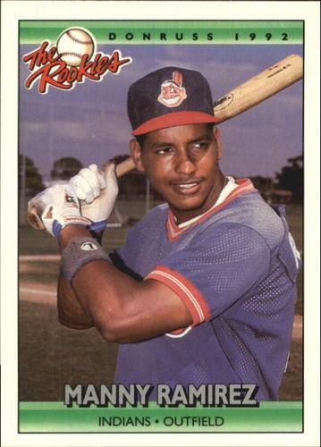 Photo of 1992 Donruss Rookies #98 Manny Ramirez Rookie Card