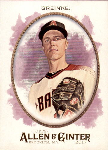Photo of 2017 Topps Allen and Ginter #296 Zack Greinke