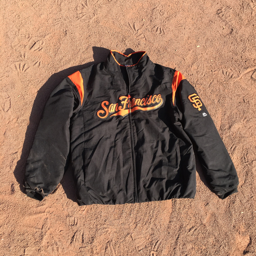 Photo of San Francisco Giants - 2017 Field Jacket - Madison Bumgarner (size XL)