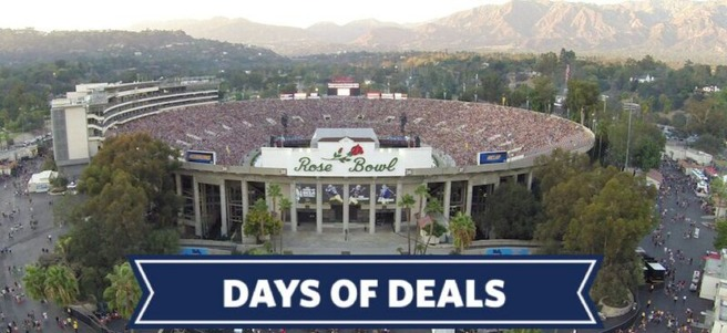 ROSE BOWL STADIUM FOOTBALL & PARADE EXPERIENCE ON NEW YEARS DAY - PACKAGE 6 of 6