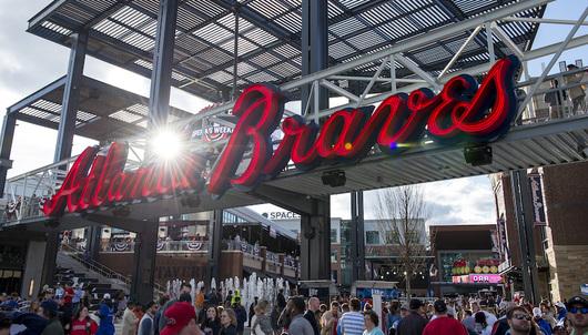 ATLANTA BRAVES BASEBALL GAME: 7/24 VS. KANSAS CITY (FOUR 200 LEVEL TICKETS)