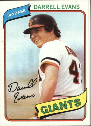 Photo of 1980 Topps #145 Darrell Evans