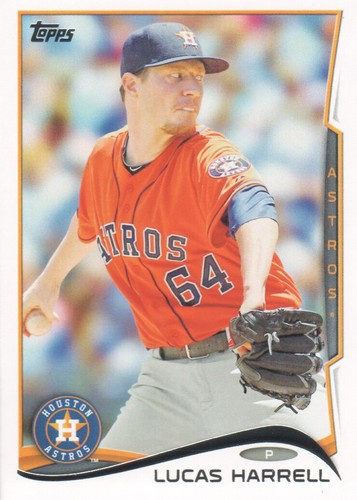 Photo of 2014 Topps #419 Lucas Harrell