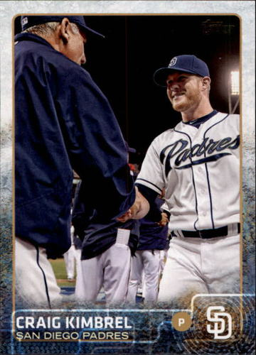 Photo of 2015 Topps Update #US237B Craig Kimbrel/Shaking hands
